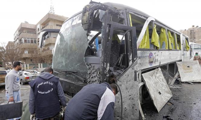 تضارب حول هوية المسؤول عن تفجيري دمشق