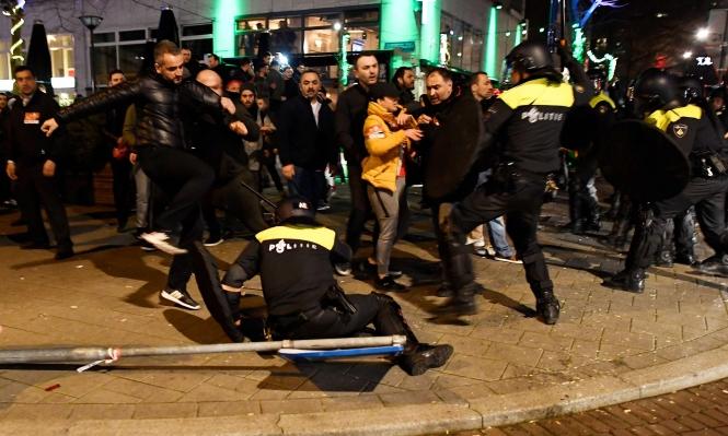 """يلدريم يتوعد هولندا بـ""""ردود فعل قوية"""" بعد طرد الوزيرة"""