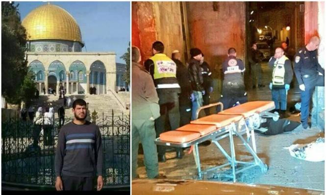 شهود عيان مقدسيون: الشرطة أعدمت فلسطينيا بالبلدة القديمة