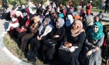 وقفة تضامنية أمام منزل الأسير إبراهيم عرام في خانيونس