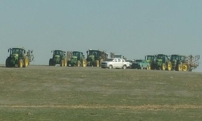 آليات السلطات تواصل حرث الأراضي وإبادة المحاصيل بالنقب