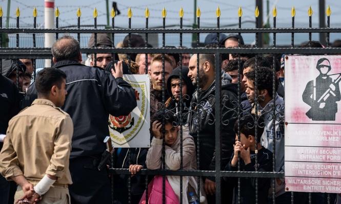 تركيا تهدد بإلغاء اتفاق الهجرة مع الاتحاد الاوروبي