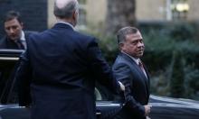 ملك الأردن يؤكد لغرينبلات على حل الدولتين