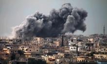 مقتل 42 شخصا في غارة على مسجد قرب حلب
