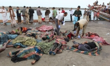 مقتل 31 لاجئا صوماليا بغارة قبالة ساحل اليمن