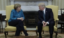 ترامب يلتقي ميركل في واشنطن
