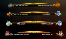 قرعة الدوري الأوروبي تنصف مانشستر يونايتد