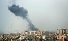 إصابات في غارات للاحتلال على قطاع غزة