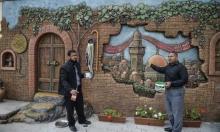 جداريات إسمنتية في غزة تنطق بالمقاومة