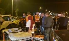 5 إصابات إحداها خطيرة بحادث طرق قرب طمرة