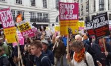 مسيرة في لندن مناهضة للعنصرية والإسلاموفوبيا