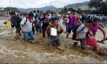 بيرو: النينو يتسبب بأمطار مميتة فيضانات وانهيارات أرضية