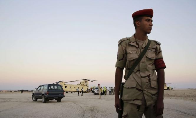 مقتل شرطي وإصابة آخر إثر تفجير مدرعة بسيناء