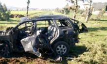 غارة إسرائيلية تستهدف سيارة بين القنيطرة ودمشق