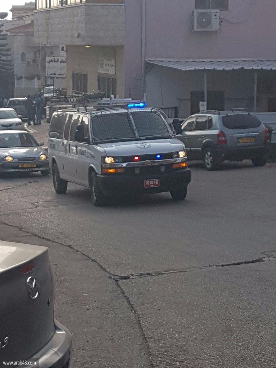 الشرطة تقتحم بناية الشافعي في أم الفحم