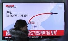 فشل محاولة إطلاق صواريخ من كوريا الشمالية