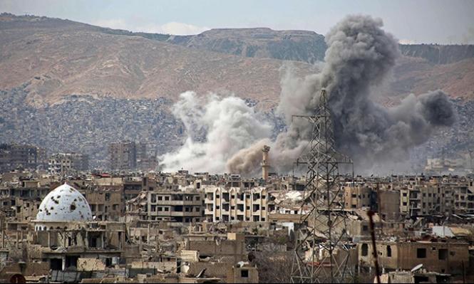 أنباء عن قصف إسرائيلي لمنظومات رادار قرب دمشق