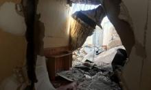 انهيار مبنى قديم في عكا