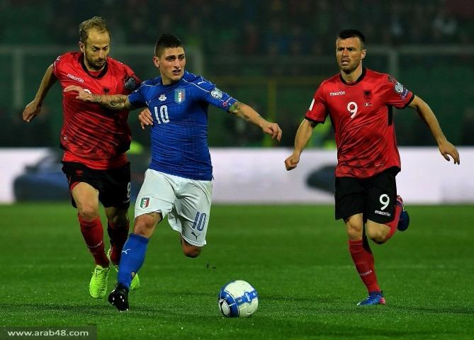 تصفيات مونديال 2018: إيطاليا تهزم ألبانيا بهدفين