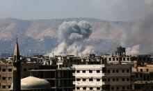 الأحياء الشرقية لدمشق تتعرض لقصف جوي