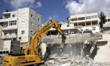 فجر اليوم: قوات الاحتلال تهدم منزلاً في العيساوية