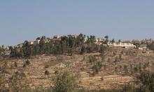 المستوطنة الجديدة هدفها تقسيم الضفة الغربية