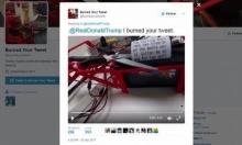 روبوت جديد وظيفته إحراق تغريدات ترامب!