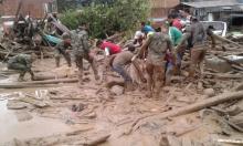 ارتفاع قتلى سيول كولومبيا إلى 154