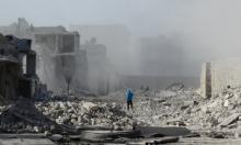 قصف المعمل الأكبر للأدوية بريف حلب الغربي