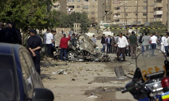 مقتل 14 مسلحا بسيناء وإصابة 16 شرطيا بانفجار بالقاهرة