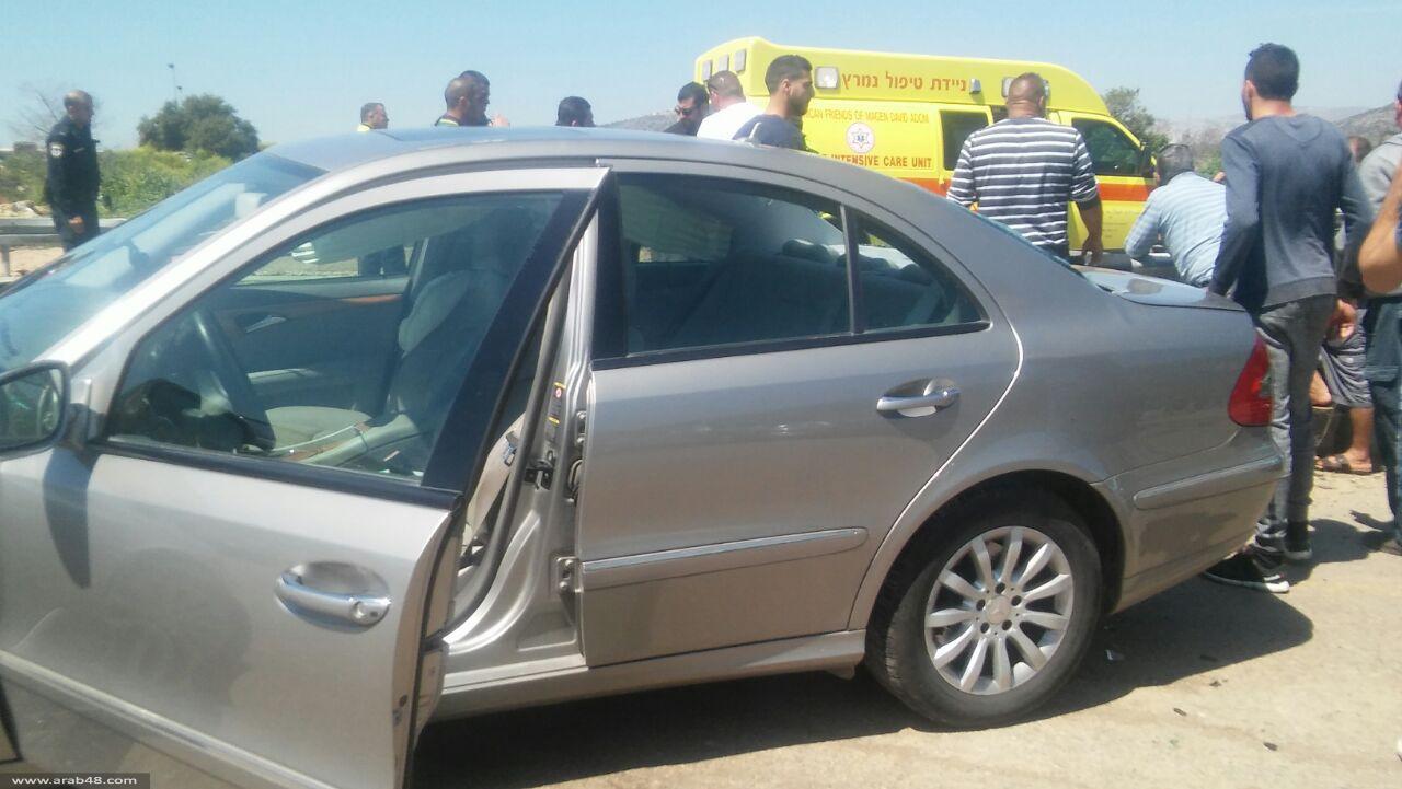 دير حنا: مصرع فارس خطيب في حادث طرق