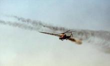 سقوط مروحية عراقية فوق الموصل بنيران داعش