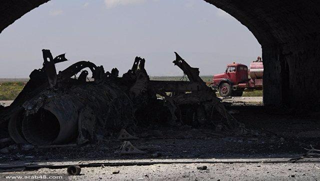 هجوم صاروخي أميركي يستهدف قاعدة جوية سورية