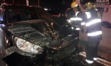 8 مصابين في حادث طرق قرب عرعرة المثلث