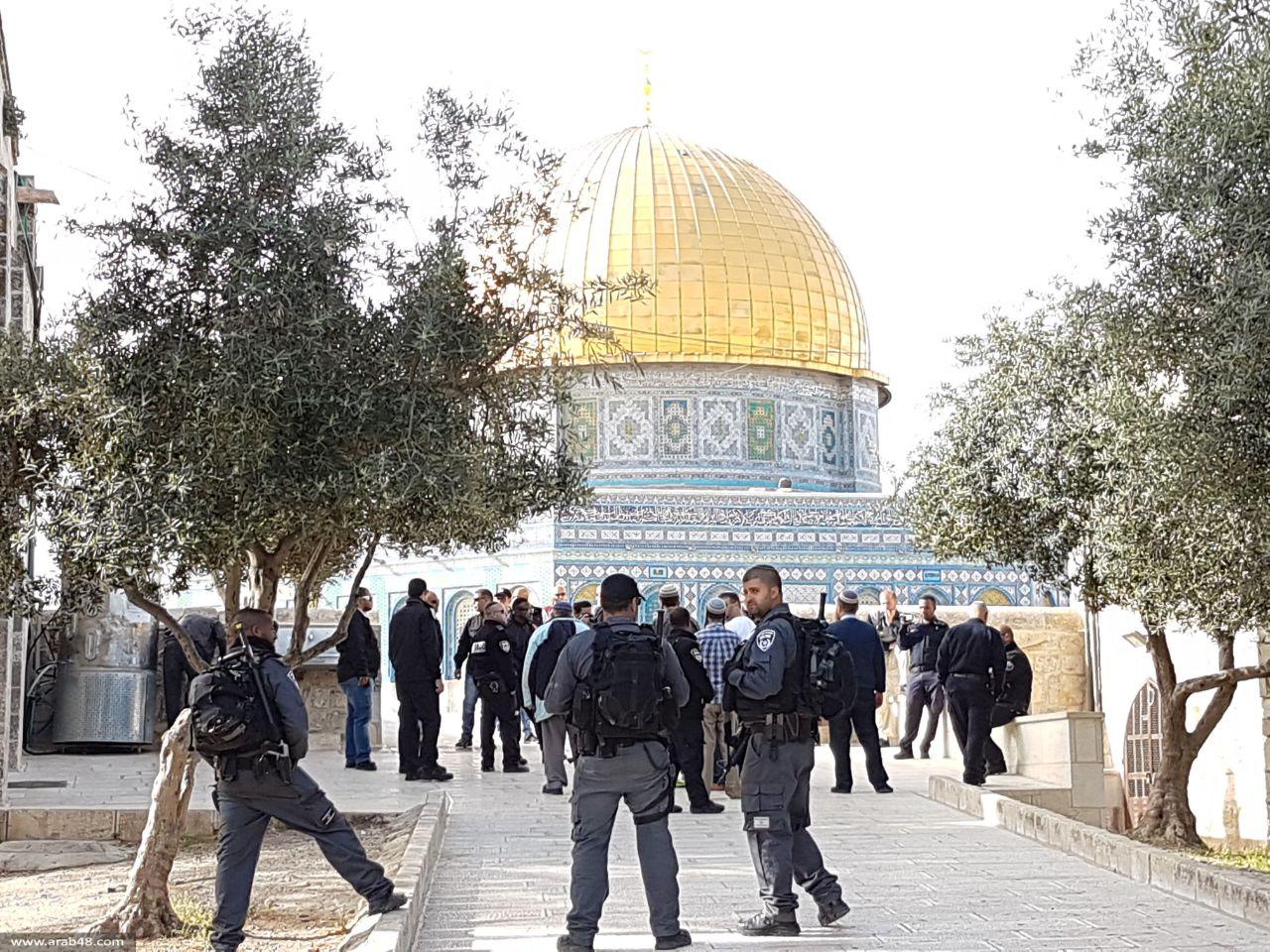 """الاحتلال """"يُخصص"""" الأقصى لليهود بـ""""الفصح"""" العبري"""