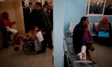 مشفى الشفاء في غزة (رويترز)