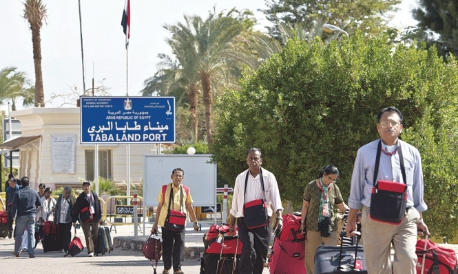 بسبب التوترات الأمنية: عائلات عربية تعود من شرم الشيخ