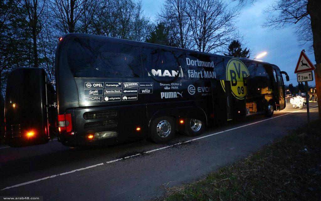 3 تفجيرات تستهدف حافلة فريق بوروسيا دورتموند