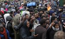 حريق كبير يلتهم مخيما للاجئين في شمال فرنسا