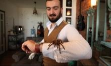 تركي يحول منزله إلى حديقة حيوانات