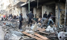 مقتل 5 سوريين في قصف روسي على إدلب