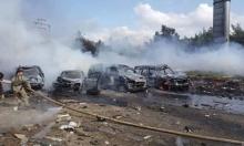 100 قتيل وعشرات الجرحى بانفجار استهدف حافلات قرب حلب
