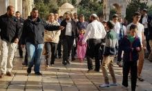 المستوطنون يقتحمون الأقصى وإبعادات للمقدسيين عنه