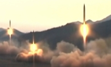 ماتيس: ترامب لم يعلق على إطلاق كوريا الشمالية صاروخا