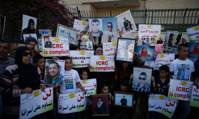 الأسرى بسجون الاحتلال يشرعون الإثنين بإضراب عن الطعام