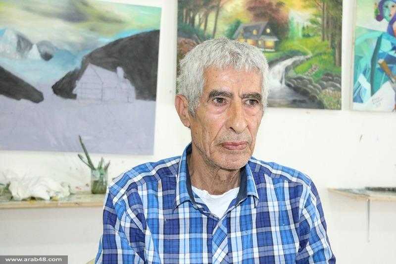 مرسم محمود بدارنة يجسد رواية نكبة فلسطين بـ 700 لوحة