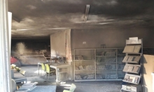 وادي سلامة: ألسنة النار تلتهم المكتبة العامة