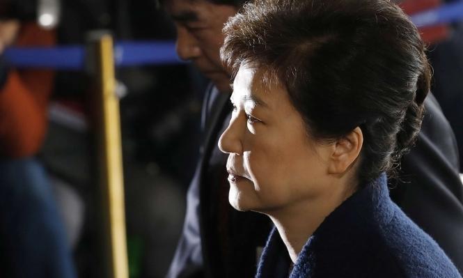 اتهام رئيسة كوريا الجنوبية المقالة رسميا بالفساد