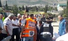 بيت جن: إصابة بالغة لطفل في حادث دهس بكرميئيل