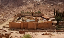 مصر: مقتل ضابط في هجوم استهدف دير سانت كاترين